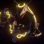 Shiny Rayquaza Pokémon GO Screenshot