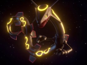 Shiny Rayquaza Pokémon GO Screenshot