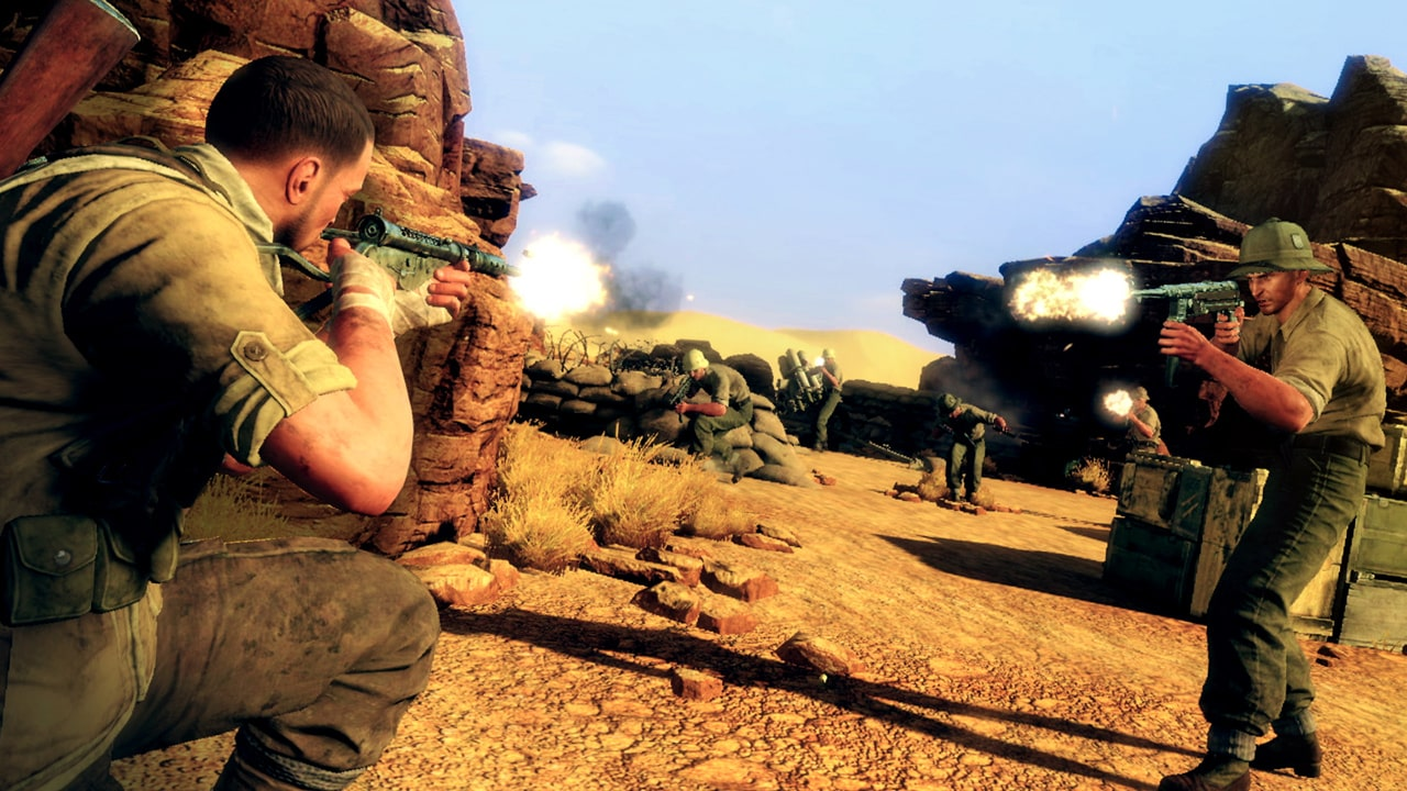 Sniper Elite 3 Ultimate Edition Nintendo Switch Screenshot 7