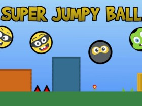 Super Jumpy Ball Logo