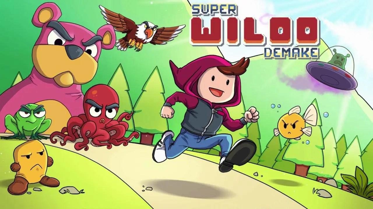 Super Wiloo Demake Logo