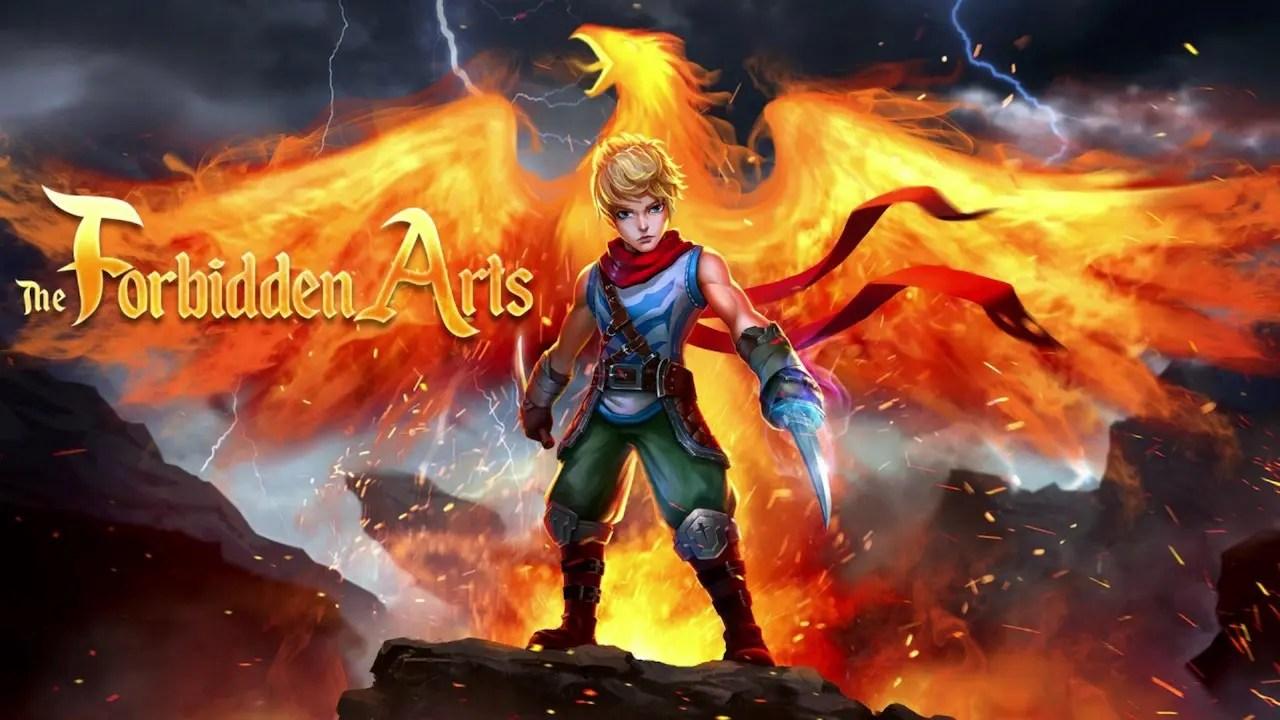 The Forbidden Arts Logo