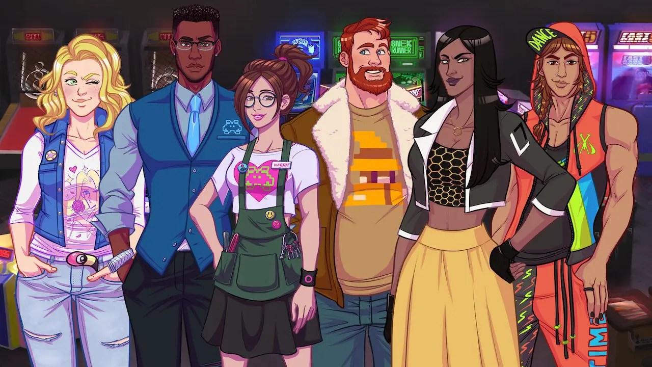 Arcade Spirits Characters Screenshot