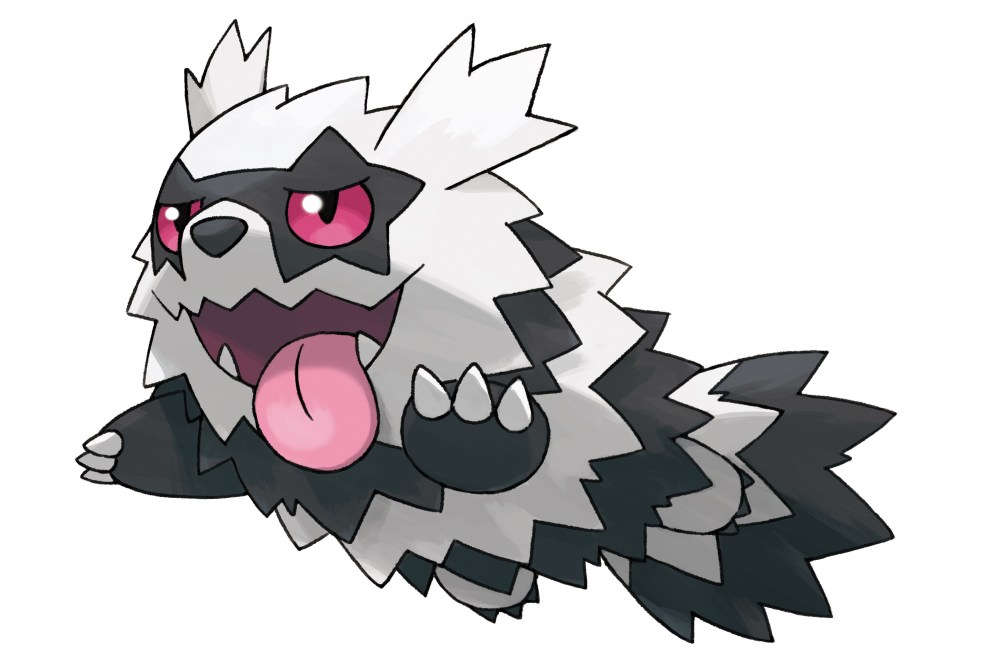 Galarian Zigzagoon Pokémon Sword And Shield Artwork
