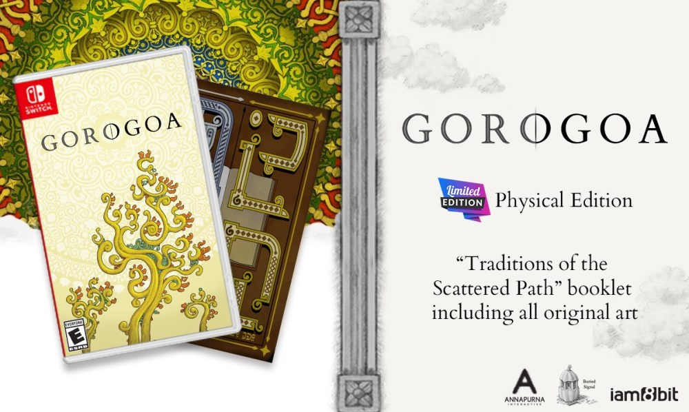 Gorogoa Switch Physical Release Image