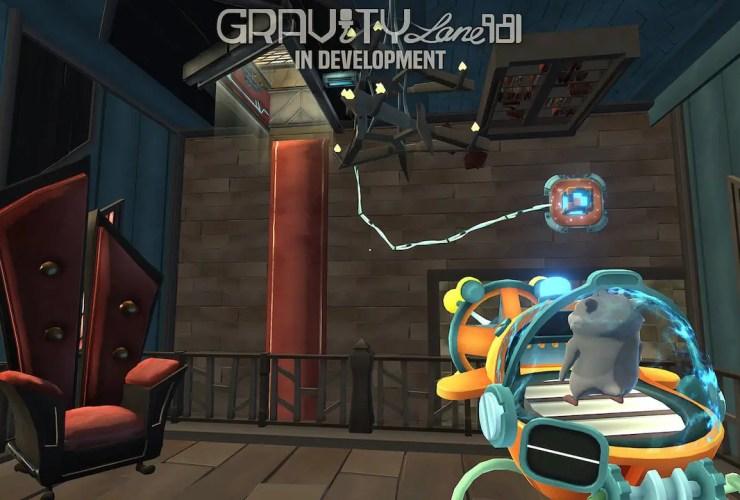 Gravity Lane 981 Screenshot