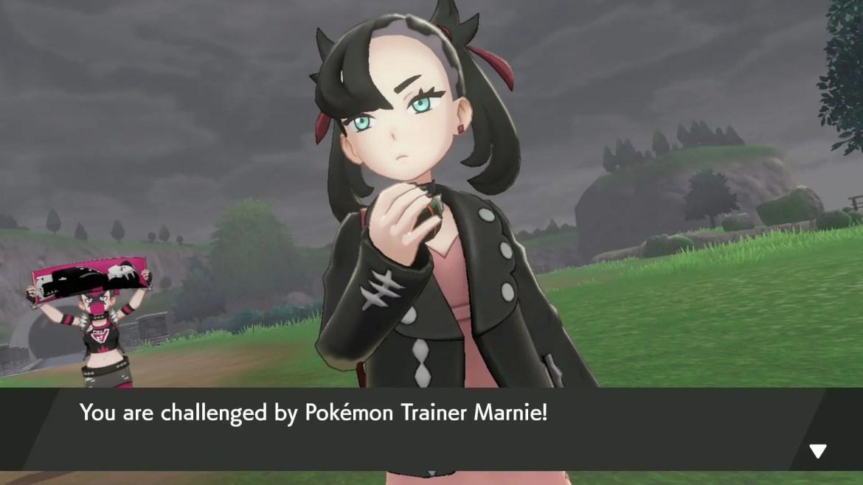 Marnie Pokémon Sword And Shield Screenshot