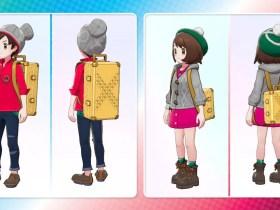 Pokémon Sword And Shield Gold Studded Leather Case Image