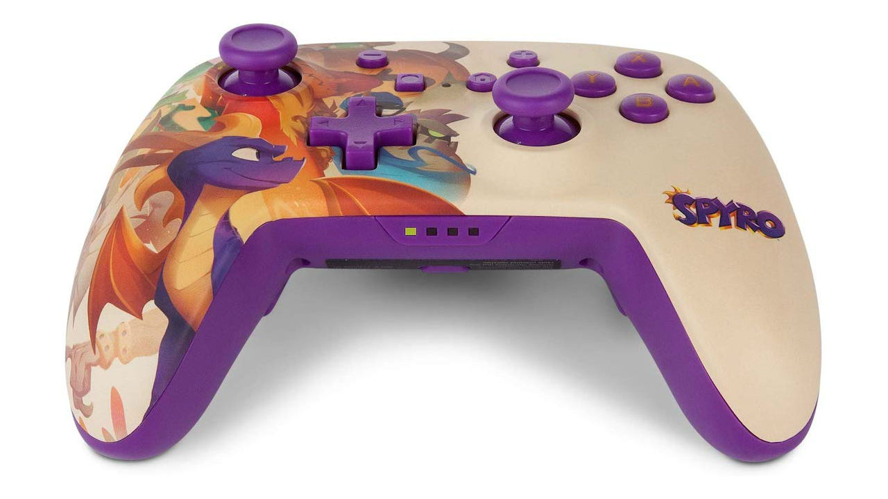 Spyro-Themed Nintendo Switch Controller And Case Out This