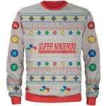 SNES-Themed Christmas Sweater Photo