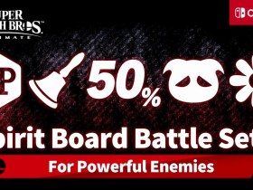 Super Smash Bros. Ultimate Spirit Board Battle Set 2 Screenshot