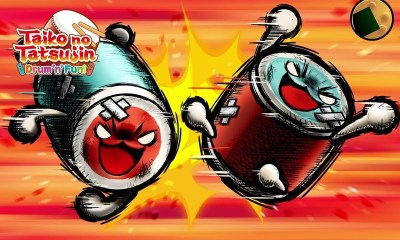 Taiko No Tatsujin: Drum 'N' Fun! DonKatsu Fight Screenshot