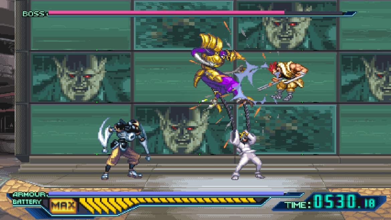 The Ninja Saviors: Return Of The Warriors Review Screenshot 2