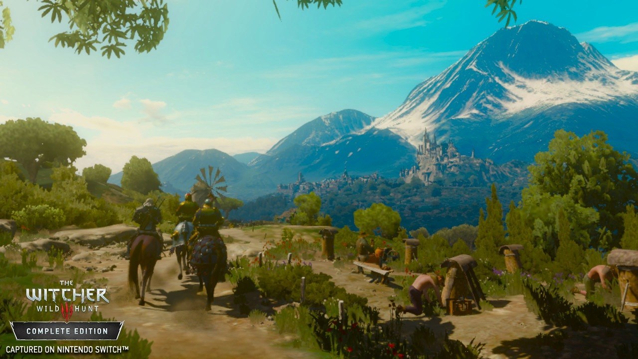 The Witcher 3 Switch Preview Screenshot 2