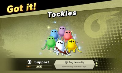 Tockles Spirit Super Smash Bros. Ultimate Screenshot