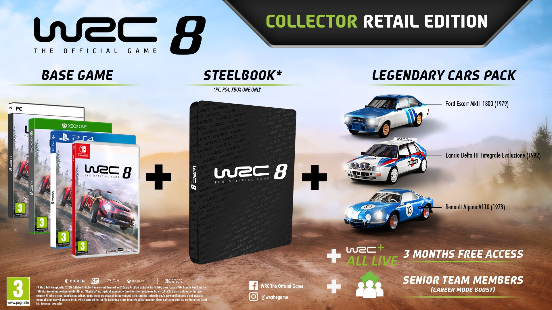 WRC 8 Collector Edition Image