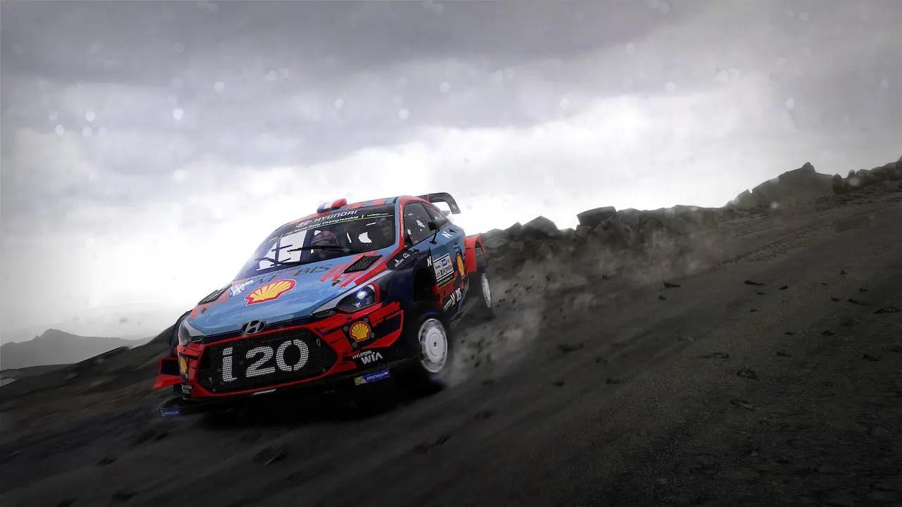 WRC 8 Hyundai Screenshot