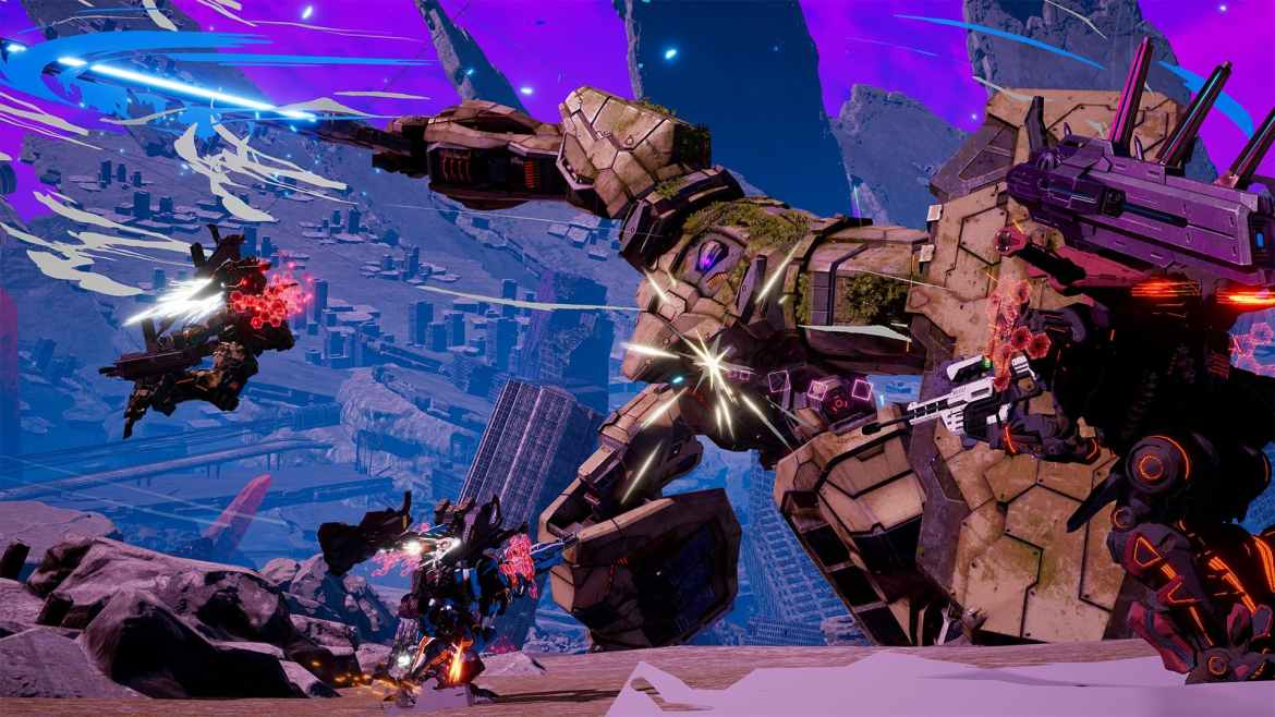 Daemon X Machina Review Screenshot 3