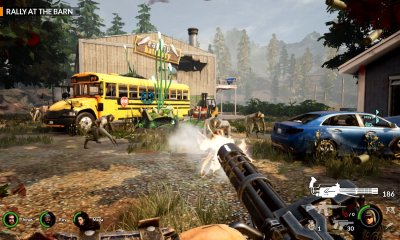 Earthfall: Alien Horde Switch Screenshot