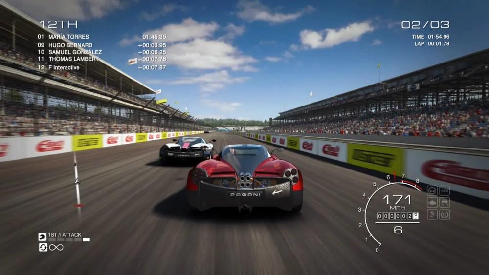 GRID Autosport Review Screenshot 1