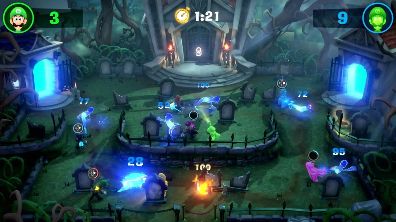 Luigi's Mansion 3 Screampark Screenshot 2