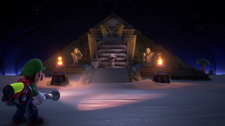 Luigi's Mansion 3 Tomb Suites Screenshot 1