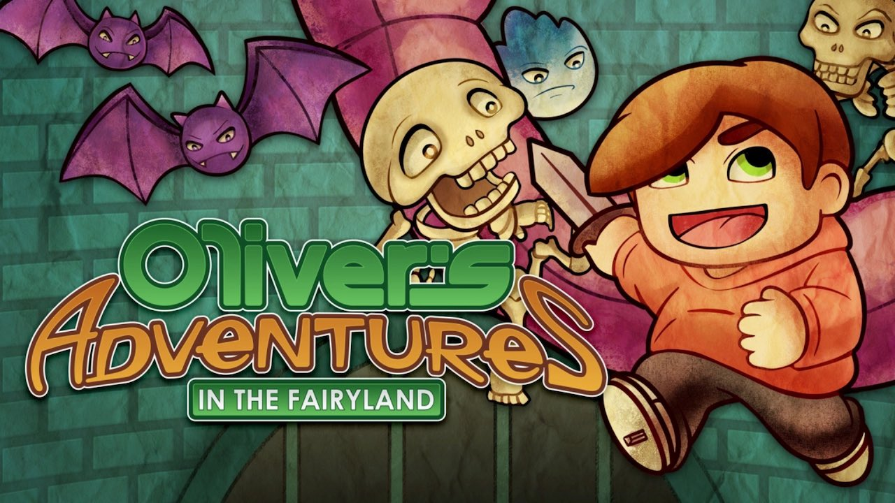 Oliver's Adventures In The Fairyland Logo