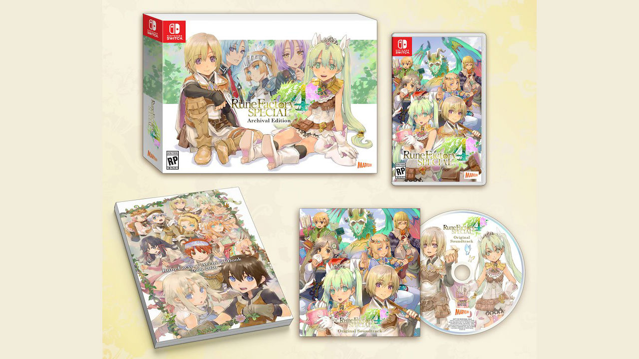 Rune Factory 4 Special Archival Edition Photo
