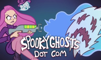 Spooky Ghosts Dot Com Logo