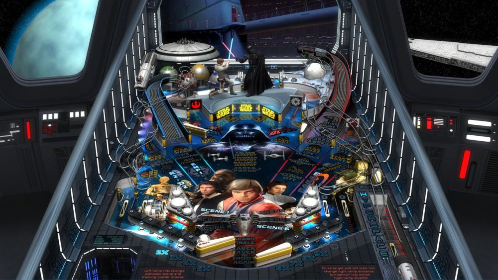 Star Wars Pinball Review Screenshot 1