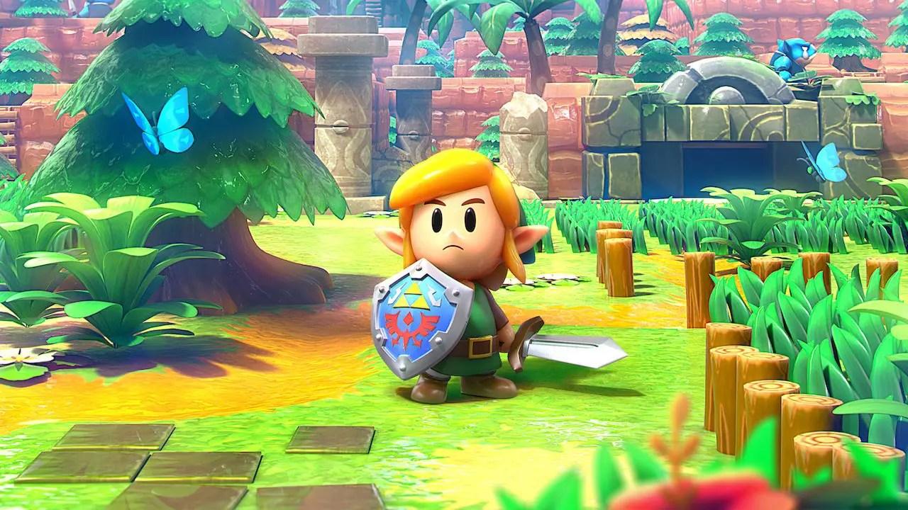 The Legend Of Zelda: Link's Awakening Review Header