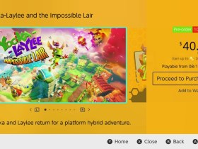 Yooka-Laylee And The Impossible Lair Switch eShop Screenshot