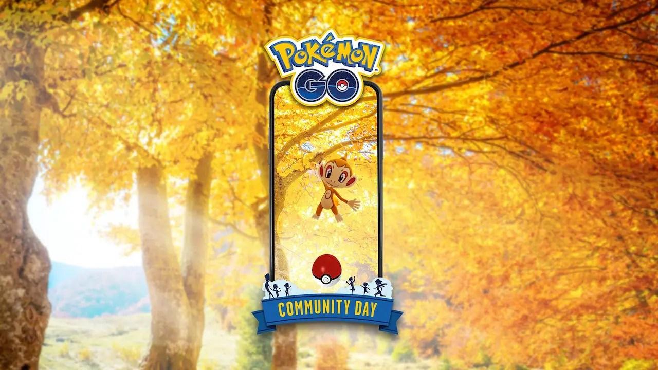 Chimchar Pokémon GO Community Day Screenshot