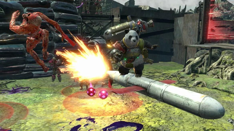 Contra: Rogue Corps Review Screenshot 2