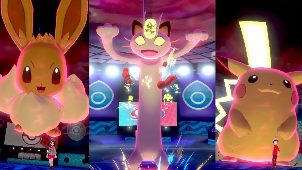 Gigantamax Meowth Pokémon Sword And Shield Screenshot