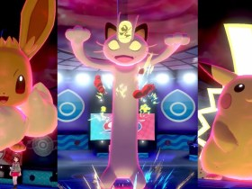 Gigantamax Meowth Pokémon Sword And Shield Screenshot