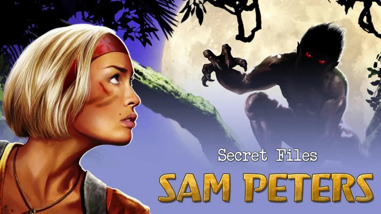 Secret Files: Sam Peters Logo