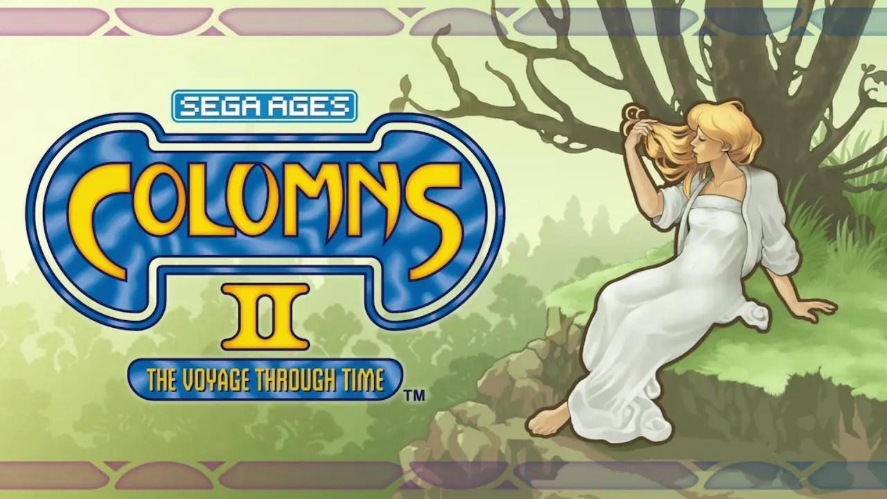SEGA AGES Columns II: A Voyage Through Time Logo