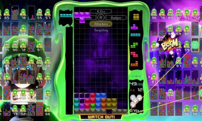 Tetris 99 Luigi's Mansion 3 Screenshot