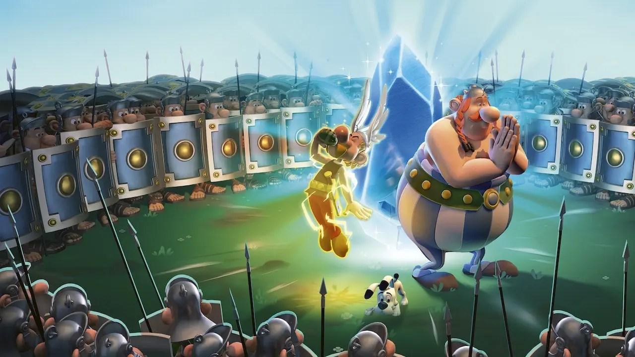 Asterix And Obelix XXL3: The Crystal Menhir Keyart