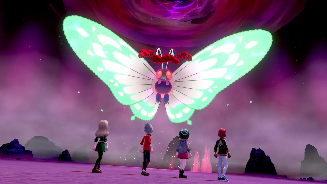 Gigantamax Butterfree Pokémon Sword And Shield Screenshot
