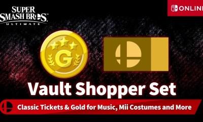 Super Smash Bros. Ultimate Vault Shopper Set Screenshot