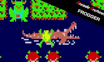Arcade Archives Frogger Logo