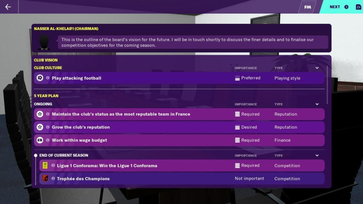 Football Manager 2020 Touch Clubs Vision Screenshot