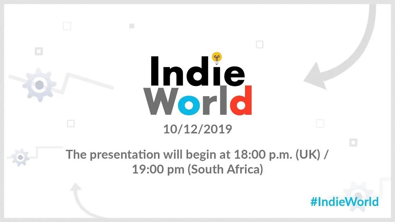 Indie World December 2019 Logo