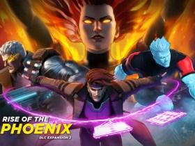 Marvel Ultimate Alliance 3 X-Men: Rise of the Phoenix Key Art