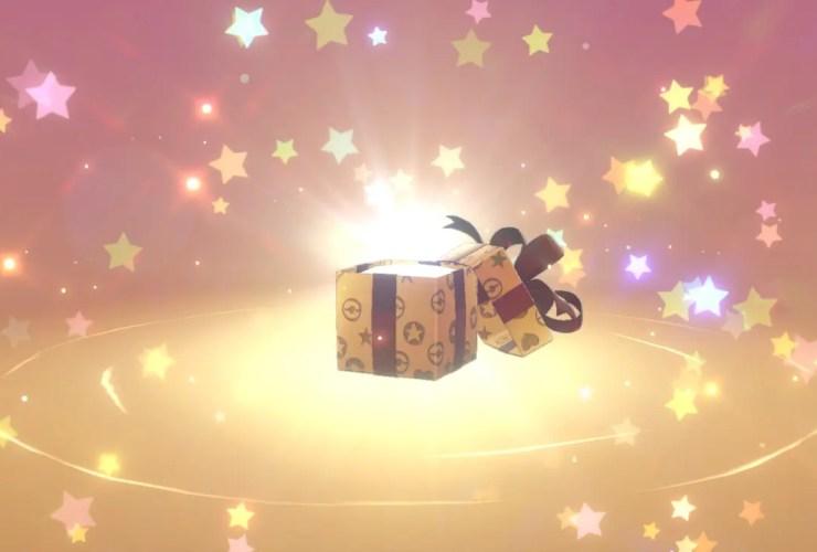 Pokémon Sword And Shield Mystery Gift Screenshot