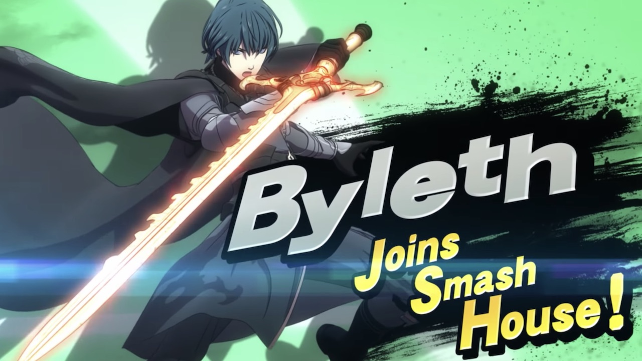 Byleth Super Smash Bros. Ultimate Screenshot