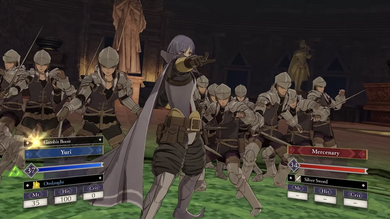 Fire Emblem: Three Houses Cindered Shadows Screenshot