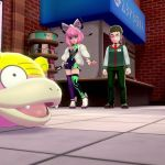 Galarian Slowpoke Pokémon Sword And Shield Screenshot